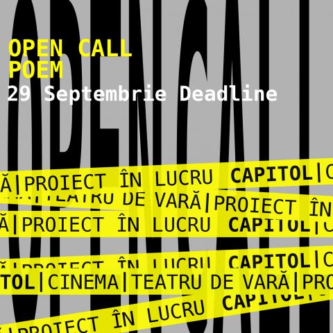 Open call POEM CAPITOL