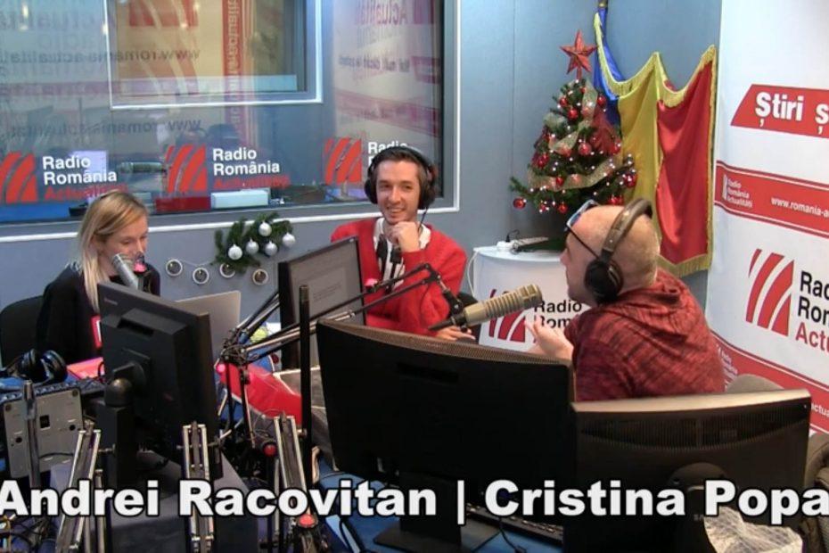 Serviciul de noapte - interviu de Felix Crainicu cu Andrei Racovițan și Cristina Popa