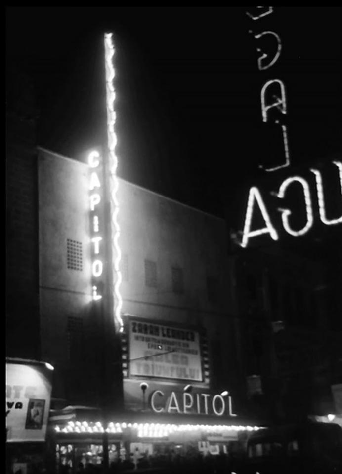 1941 Willy Prager Cinema Capitol