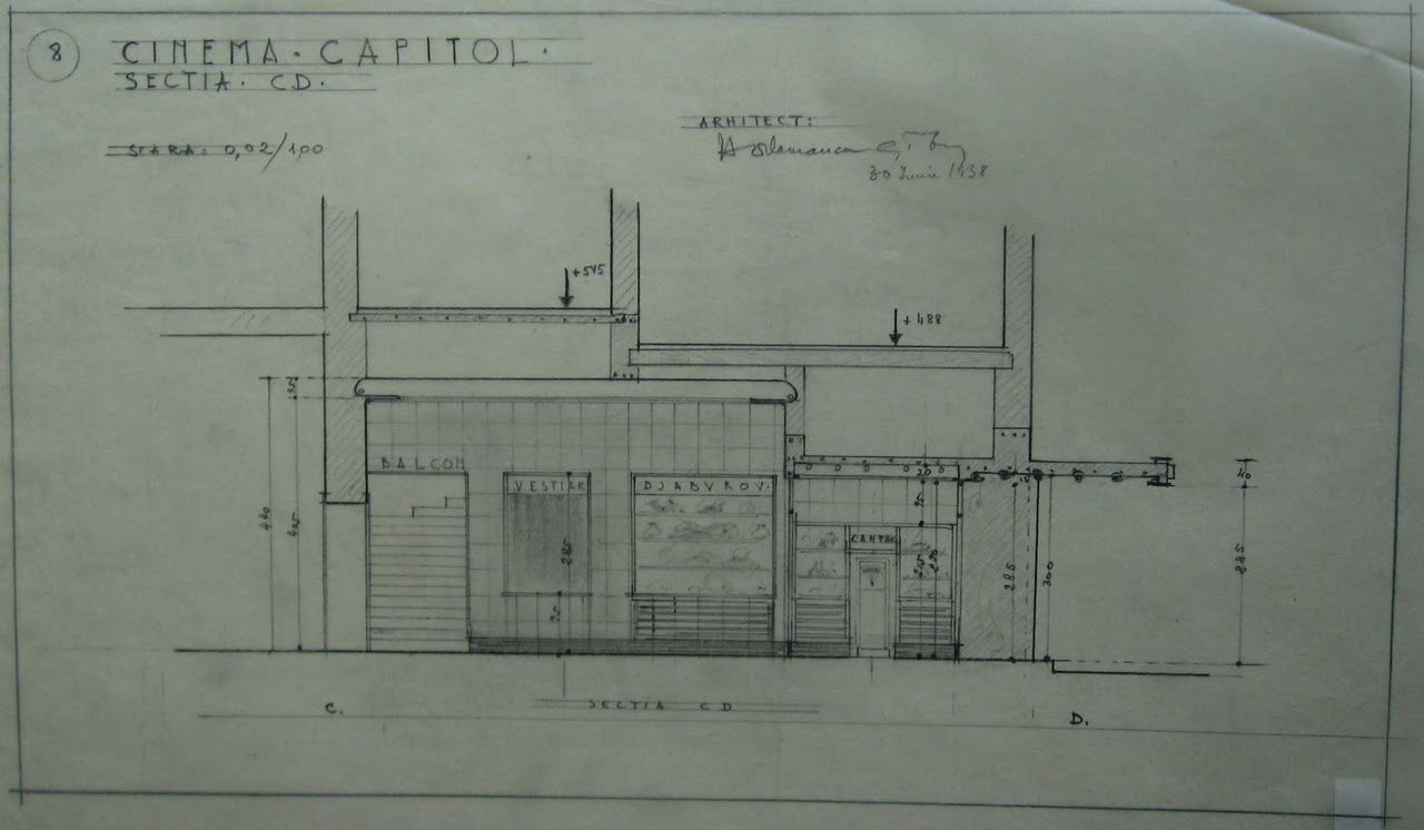 1938 Cinema Capitol Henrieta Delavrancea