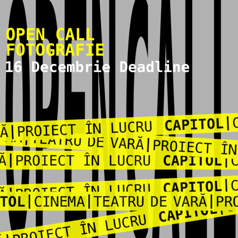 NEW Open call for CAPITOL – Fotografie