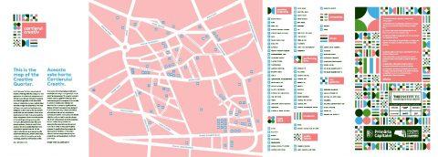 The Institute lansează prima ediție a hărții Cartierului Creativ al Bucureștiului