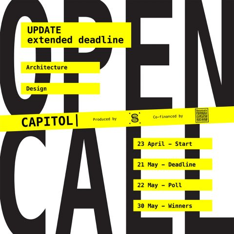 OPEN CALL ARCHITECTURE & DESIGN – Shape the future of CAPITOL [EXTENDED DEADLINE]