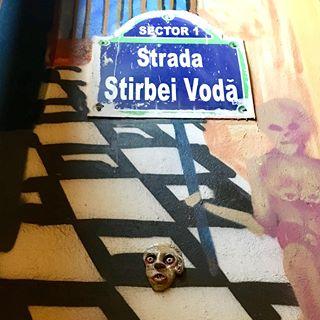 J.Ace street art Bucharest Știrbei Vodă 3