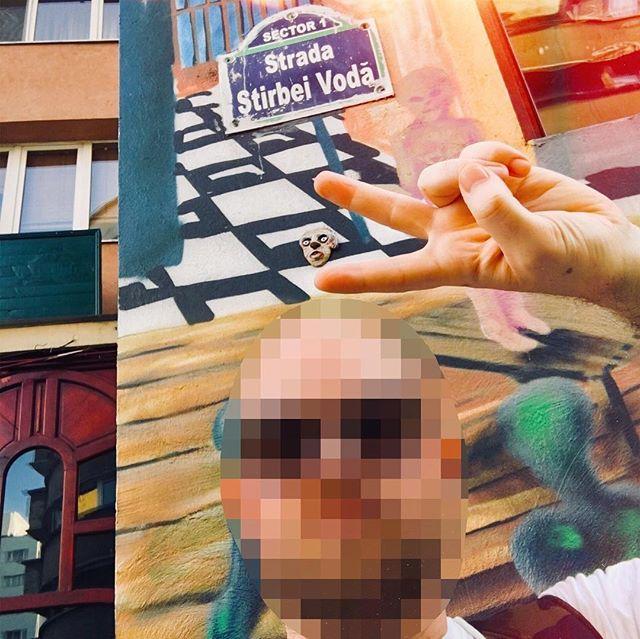 J.Ace street art Bucharest Știrbei Vodă CAPITOL 6