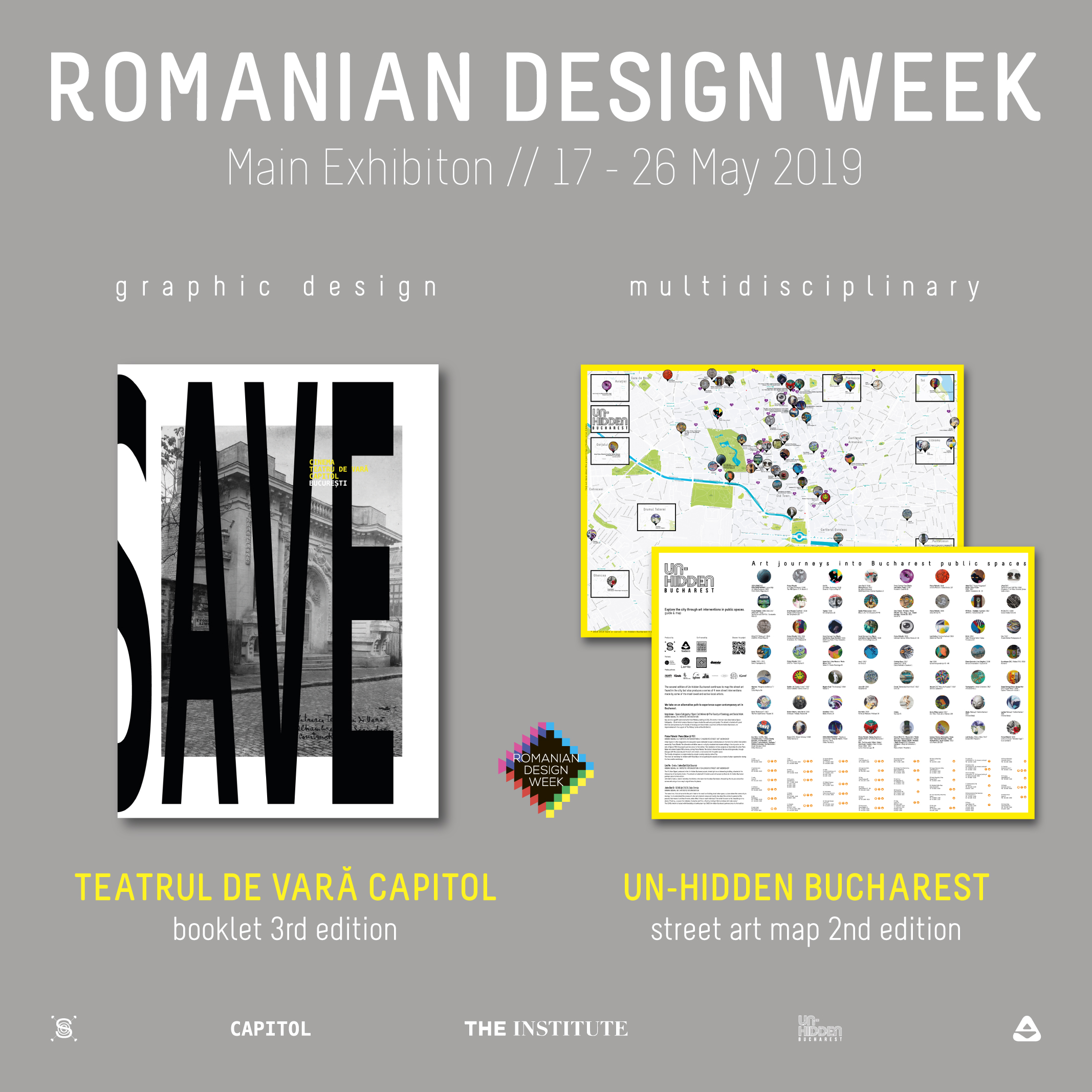 The CAPITOL booklet | Graphic Design | Romanian Design Week 2019